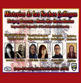 MISTERIOS DE LAS NOCHES GALLEGAS PODCAST RADIO PROGRAMA 2