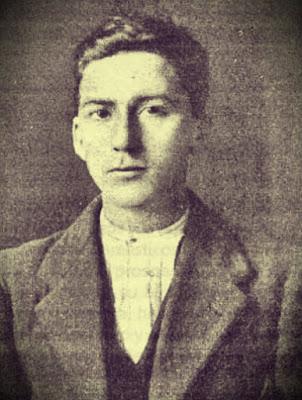 Ramón Cuervo de joven