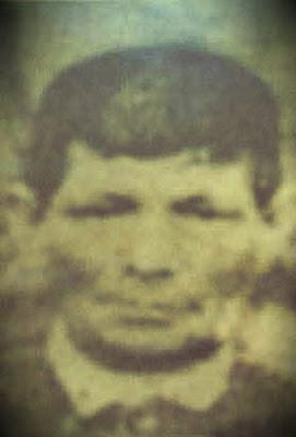 Supuesta imagen del rostro de Ramón Cuervo